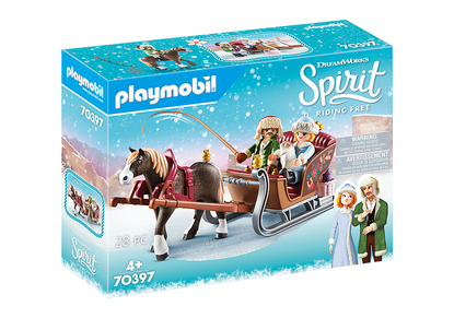 Playmobil - Spirt Christmas Winter Sleigh Ride PMB70397