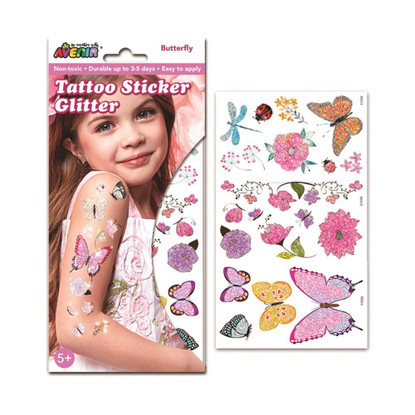 Avenir - Glitter Tattoo - Butterfly (6920773380212)