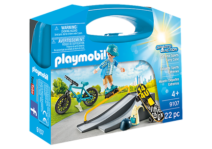 Playmobil - Extreme Sports Carry Case PMB9107 (4008789091079)