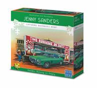 Blue Opal Jenny Sanders Running on Empty 1000 piece Deluxe Jigsaw Puzzle