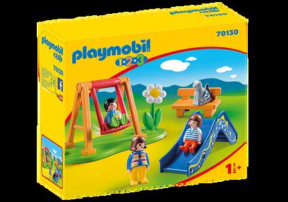 Playmobil - 1.2.3 Children's Playground PMB70130