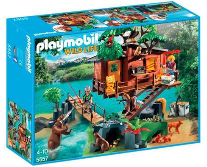 Playmobil - Wild Life - Adventure Tree House PMB5557