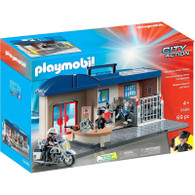 Playmobil - Take Along Police Station PMB5689