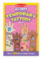 Melissa & Doug - My First Temporary Tattoos - Girl MND2946