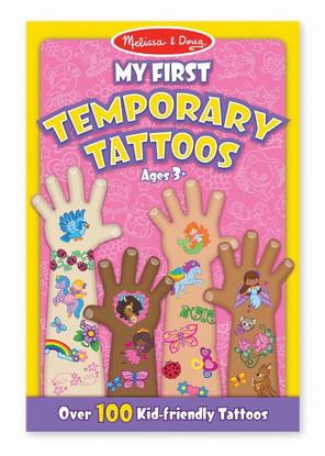Melissa & Doug - My First Temporary Tattoos - Girl MND2946