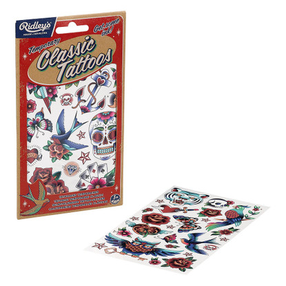 Ridley's - Temporary Classic Tattoos