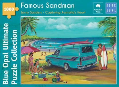 Blue Opal - Sanders Famous Sandman 1000 piece Jigsaw Puzzle BL02115-C