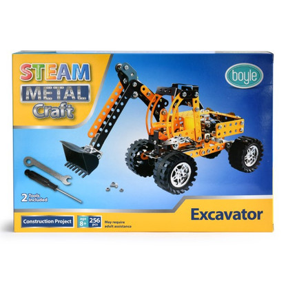 S.T.E.A.M Metal Craft - Excavator Construction Kit