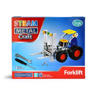 S.T.E.A.M Metal Craft Forklift Construction Kit