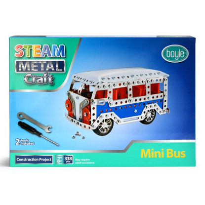 S.T.E.A.M Metal Craft Mini Bus Construction Kit - Boyle