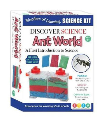 Ant World : Wonders of Learning Discover Science Kit By: Lake Press