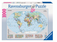 Ravensburger – Political World Map Puzzle 1000pc