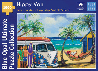 Blue Opal - Sanders Hippy Van 1000 piece Jigsaw Puzzle BL02113-C