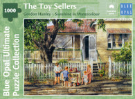 Blue Opal - Gordon Hanley - The Toy Sellers 1000 piece Deluxe Jigsaw Puzzle BL02142-C