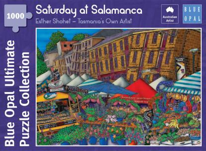 Blue Opal - Shohet Saturday at Salamanca 1000 piece Jigsaw Puzzle BL02108-C