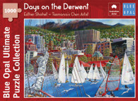 Blue Opal - Shohet Days on the Derwent 1000 Piece Jigsaw Puzzle BL02112-C
