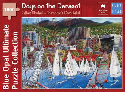 Blue Opal - Shohet Days on the Derwent 1000 Piece Jigsaw Puzzle BL02112-C