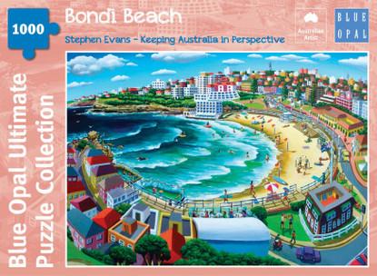 Blue Opal - Evans Bondi Beach 1000 piece jigsaw puzzle BL02121-C