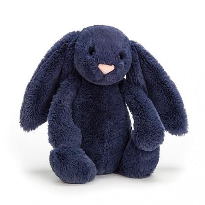 Jellycat - Bashful Navy Bunny Medium