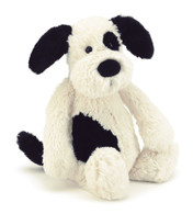 Jellycat - Bashful Black and Cream Puppy Medium