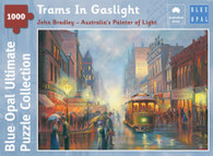 Blue Opal - Bradley Trams In Gaslight 1000 Piece BL02106-C