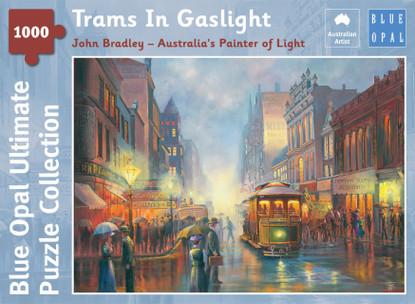 Blue Opal - Bradley Trams In Gaslight 1000 Piece BL02106-C