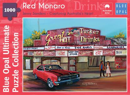 Blue Opal - Sanders Red Monaro 1000 Piece BL02114-C