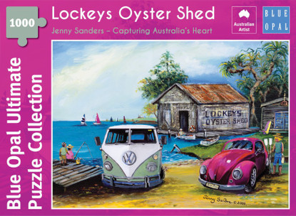 Blue Opal - Sanders Lockeys Oyster Shed 1000 Piece BL02116-C
