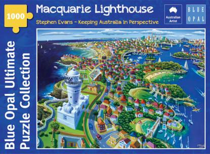 Blue Opal - Evans Macquarie Lighthouse 1000 piece BL02124-C