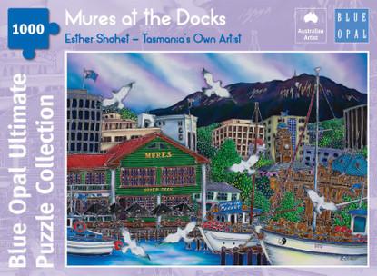 Blue Opal - Shohet Mures at the Docks 1000 piece BL02111-C