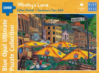 Blue Opal - Shohet Wooby's Lane 1000 piece BL02110-C