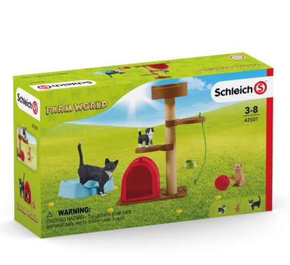 Schleich - Playtime for cute cats SC42501  - Boxed
