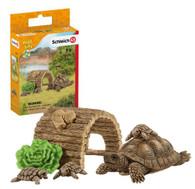 Schleich - Tortoise home SC42506