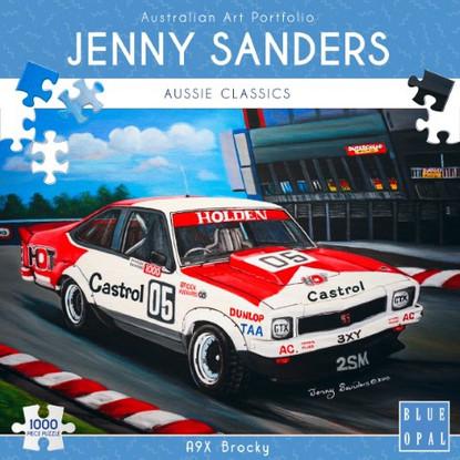 Blue Opal - A9X Brocky 1000 piece Jenny Sanders BL02023