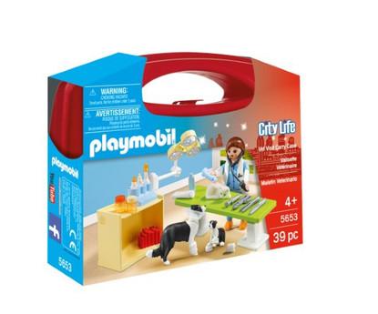 Playmobil - Vet Visit Carry Case 5653