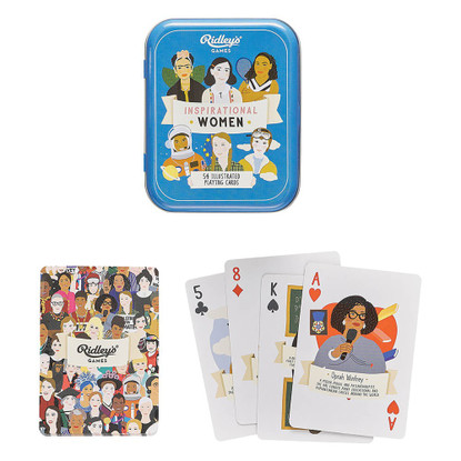 Inspirational Women Playing Cards - Ridley's