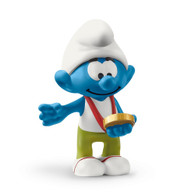 Schleich - Smurf with medal