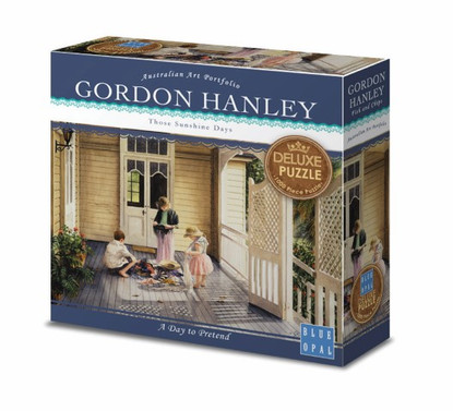 Blue Opal - Gordon Hanley - A Day To Pretend 1000 piece Deluxe Jigsaw Puzzle
