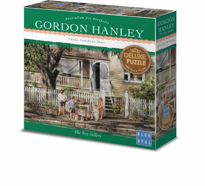 Blue Opal - Gordon Hanley - The Toy Sellers 1000 piece Deluxe Jigsaw Puzzle