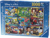 Ravensburger - Disney Pixar Movies 1 Puzzle 1000 piece RB19222-9