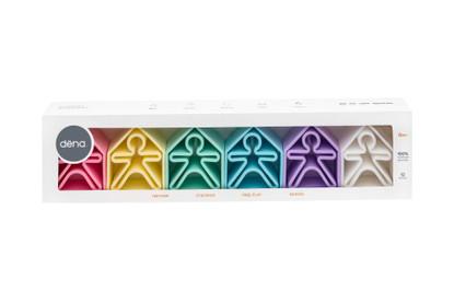 Dena Toys -  Kid 6pc plus House 6pc Set Pastel