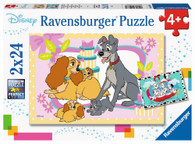 Ravensburger - Disneys Favorite Puppies 2x24 piece RB05087-1