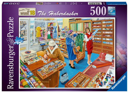 Ravensburger - The Haberdasher 500 piece RB16413-4