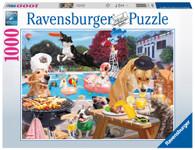 Ravensbuger - Dog Days Of Summer Puzzle 1000 piece RB16810-1
