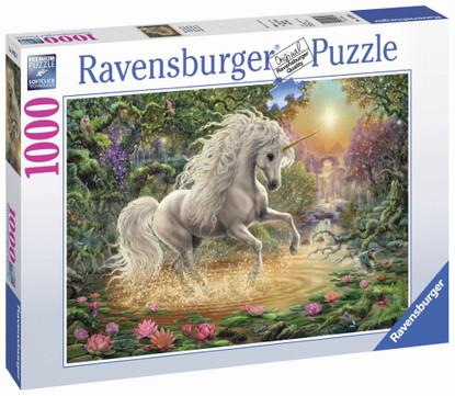 Ravensburger - Mystical Unicorn Puzzle 1000 piece RB19793-4