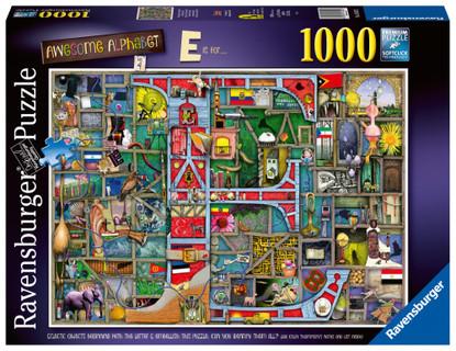 Ravensburger - Awesome Alphabet E 1000 piece RB16420-2