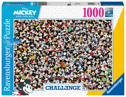 Ravensburger - Challenge Mickey Puzzle 1000 piece RB16744-9