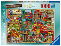 Ravensburger - Awesome Alphabet F & G Puzzle 1000 piece RB16761-6