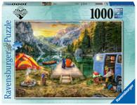 Ravensburger - Wanderlust Calm Campsite Puzzle 1000 piece RB16177-5