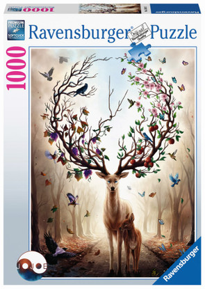 Ravensburger - Magical Deer 1000 piece RB15018-2